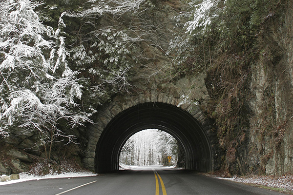 Tunnel in Townsend