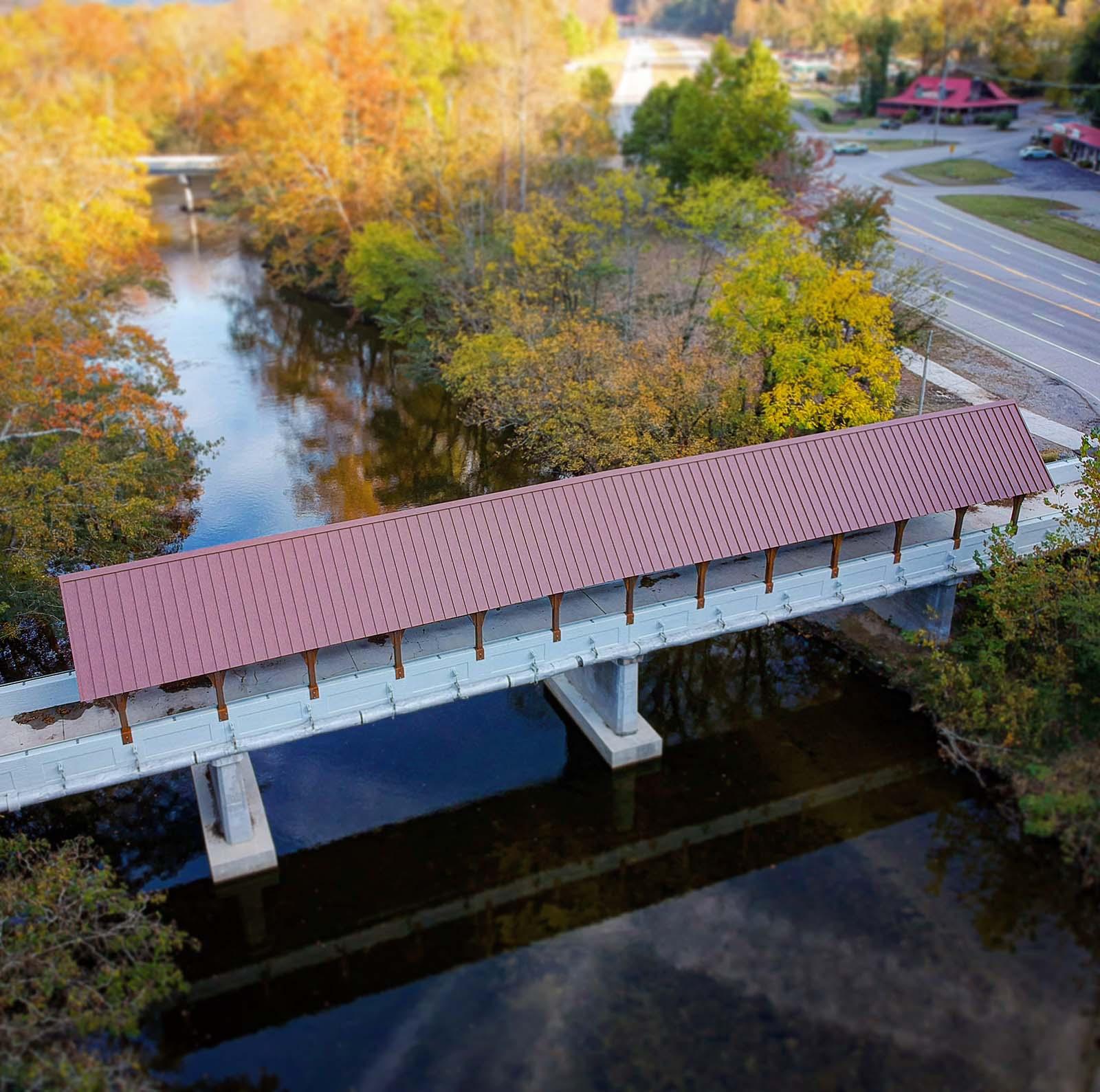 Covered Bridge Townsend TN