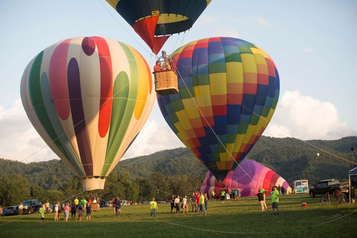 Great Smoky Mountain Hot Air Balloon